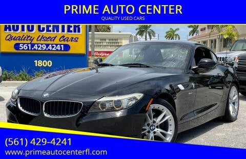 2010 BMW Z4 for sale at PRIME AUTO CENTER in Palm Springs FL