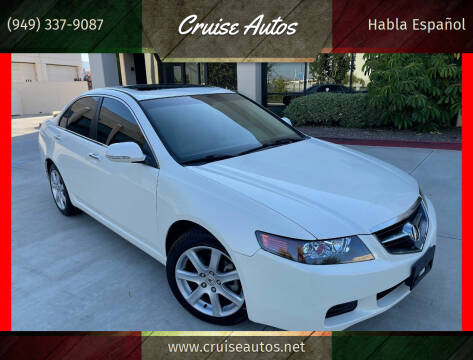 2005 Acura TSX for sale at Cruise Autos in Corona CA