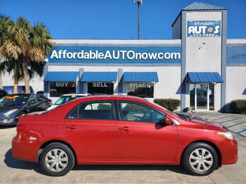 2011 Toyota Corolla for sale at Affordable Autos in Houma LA