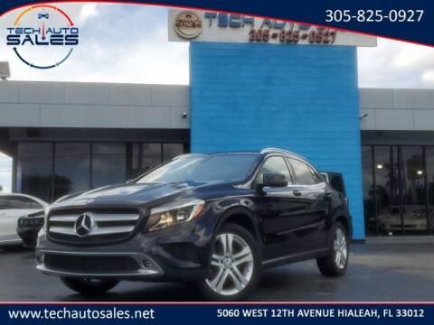2016 Mercedes-Benz GLA for sale at Tech Auto Sales in Hialeah FL