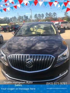 2016 Buick LaCrosse for sale at Gralin Hampton Auto Sales in Summerville SC