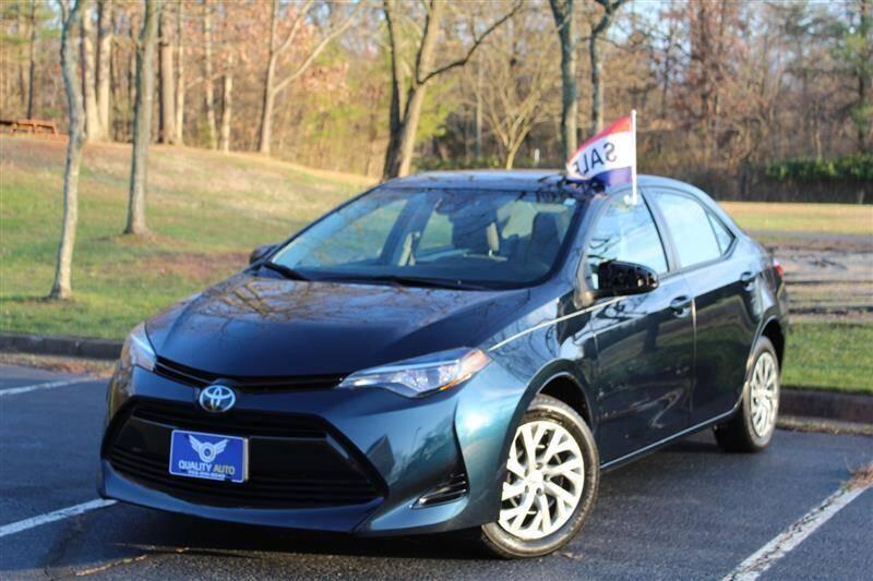 2017 Toyota Corolla for sale at Quality Auto in Manassas VA