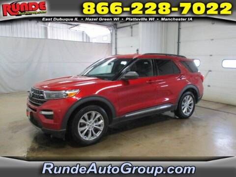 2020 Ford Explorer for sale at Runde PreDriven in Hazel Green WI