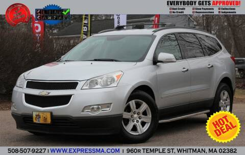 2012 Chevrolet Traverse for sale at Auto Sales Express in Whitman MA