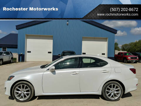 2012 Lexus IS 250 for sale at Rochester Motorworks in Rochester MN