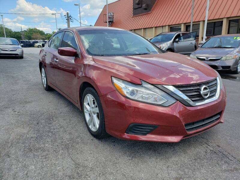 2016 Nissan Altima for sale at City Automotive Center in Orlando FL