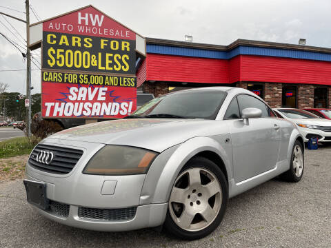 2001 Audi TT for sale at HW Auto Wholesale in Norfolk VA