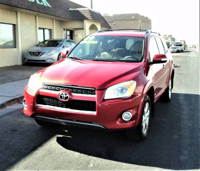 2009 Toyota RAV4 for sale at DESERT AUTO TRADER in Las Vegas NV