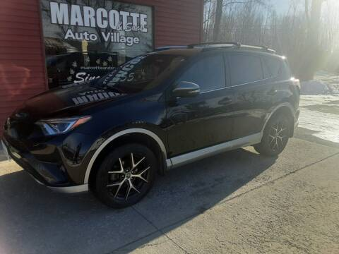 2017 Toyota RAV4 for sale at Marcotte & Sons Auto Village in North Ferrisburgh VT