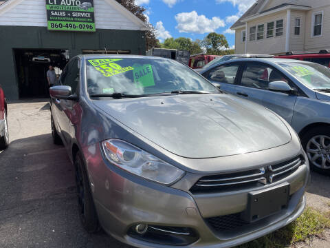 2013 Dodge Dart for sale at Connecticut Auto Wholesalers in Torrington CT