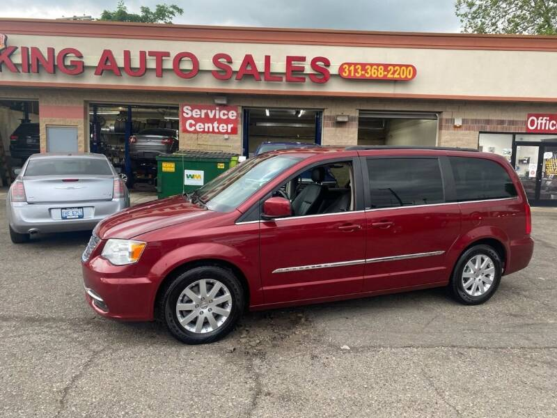2013 Chrysler Town and Country for sale at KING AUTO SALES  II in Detroit MI