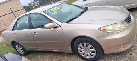 2006 Toyota Camry for sale at W & D Auto Sales in Fayetteville NC