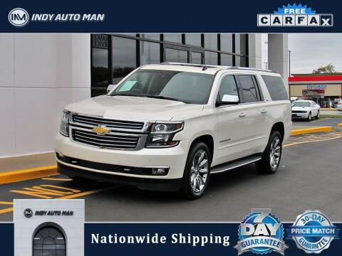 2015 Chevrolet Suburban for sale at INDY AUTO MAN in Indianapolis IN