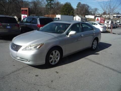 2007 Lexus ES 350 for sale at Credit Cars LLC in Lawrenceville GA