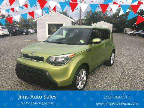 2014 Kia Soul for sale at Jims Auto Sales in Lakehurst NJ