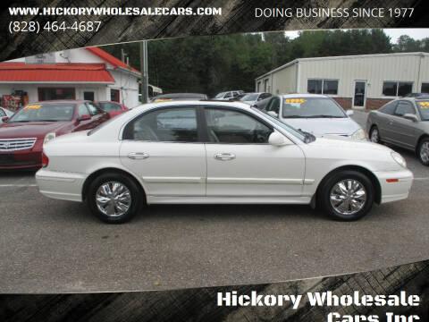 2002 Hyundai Sonata for sale at Hickory Wholesale Cars Inc in Newton NC