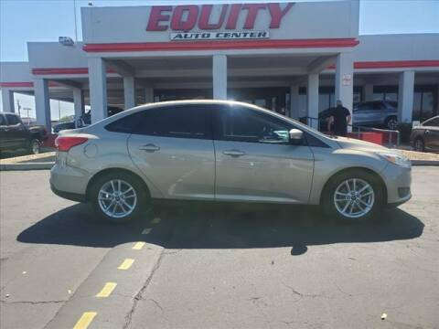 2016 Ford Focus for sale at EQUITY AUTO CENTER in Phoenix AZ