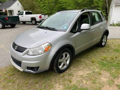 2007 Suzuki SX4 Crossover for sale at Olney Auto Sales in Springfield VT