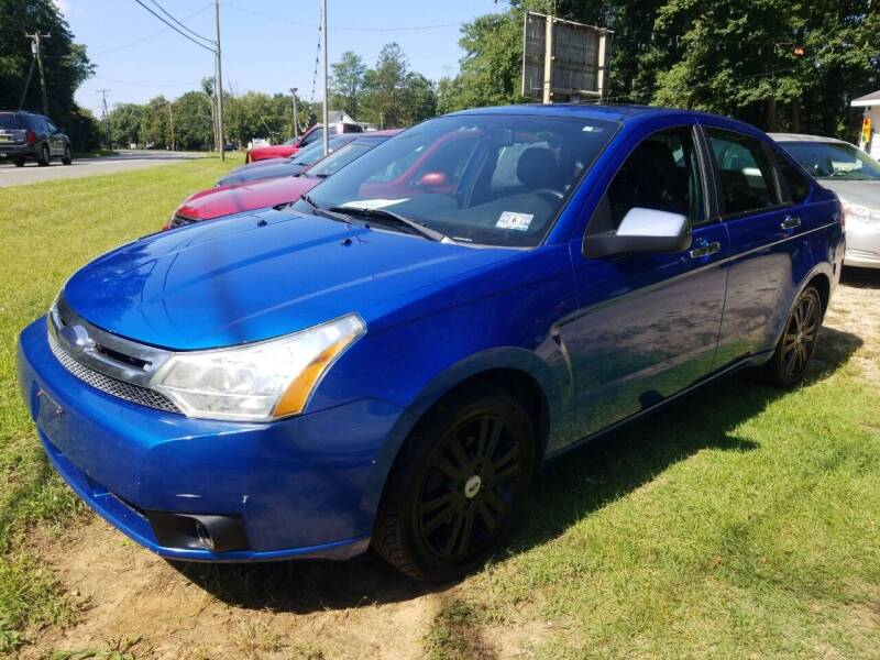 2010 Ford Focus for sale at Ray's Auto Sales in Elmer NJ