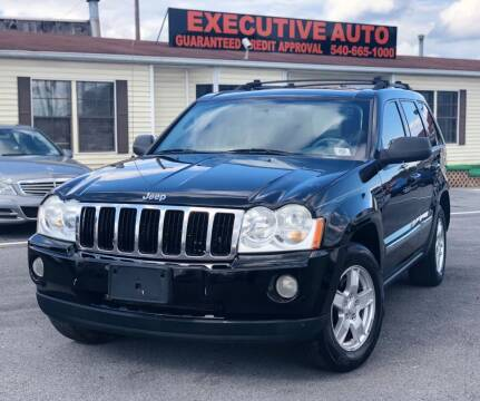 2006 Jeep Grand Cherokee for sale at Executive Auto in Winchester VA