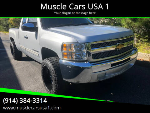 2013 Chevrolet Silverado 1500 for sale at Muscle Cars USA 1 in Murrells Inlet SC