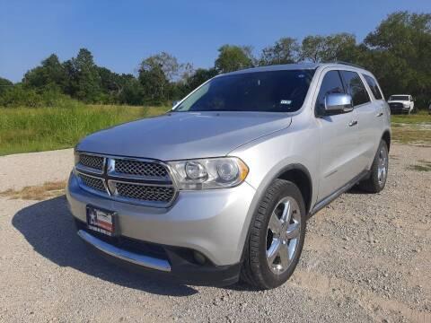 2012 Dodge Durango for sale at LA PULGA DE AUTOS in Dallas TX