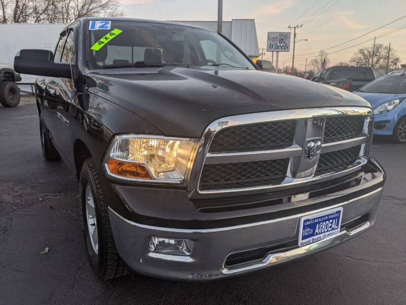 2012 RAM Ram Pickup 1500 for sale at GREAT DEALS ON WHEELS in Michigan City IN