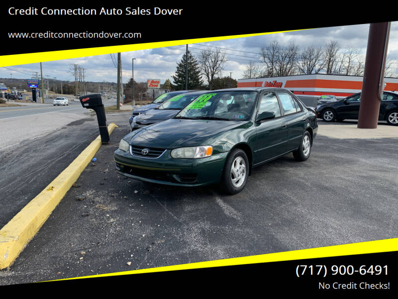 2001 Toyota Corolla for sale at Credit Connection Auto Sales Dover in Dover PA