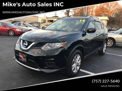 2014 Nissan Rogue for sale at Mike's Auto Sales INC in Chesapeake VA