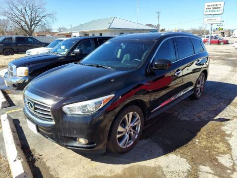 2013 Infiniti JX35 for sale at Bourbon County Cars in Fort Scott KS