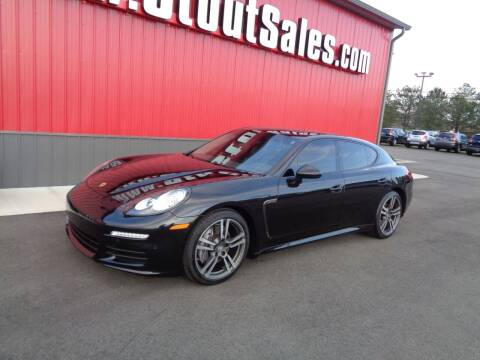 2014 Porsche Panamera for sale at Stout Sales in Fairborn OH