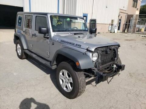 2016 Jeep Wrangler Unlimited for sale at MIKE'S AUTO in Orange NJ