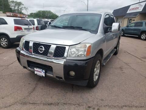 2006 Nissan Titan for sale at Gordon Auto Sales LLC in Sioux City IA