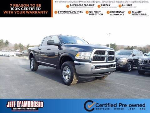 2018 RAM Ram Pickup 2500 for sale at Jeff D'Ambrosio Auto Group in Downingtown PA