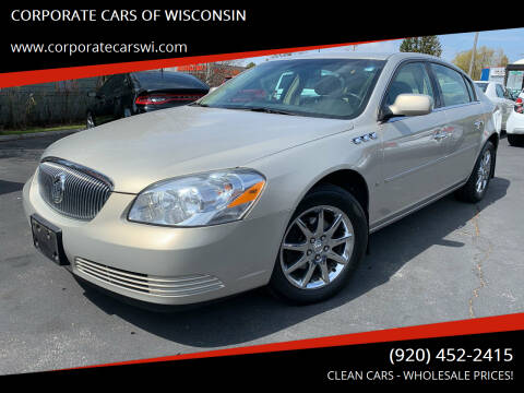 2008 Buick Lucerne for sale at CORPORATE CARS OF WISCONSIN - DAVES AUTO SALES OF SHEBOYGAN in Sheboygan WI