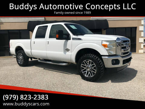 2011 Ford F-250 Super Duty for sale at Buddys Automotive Concepts LLC in Bryan TX