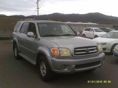 2002 Toyota Sequoia for sale at Mendocino Auto Auction in Ukiah CA