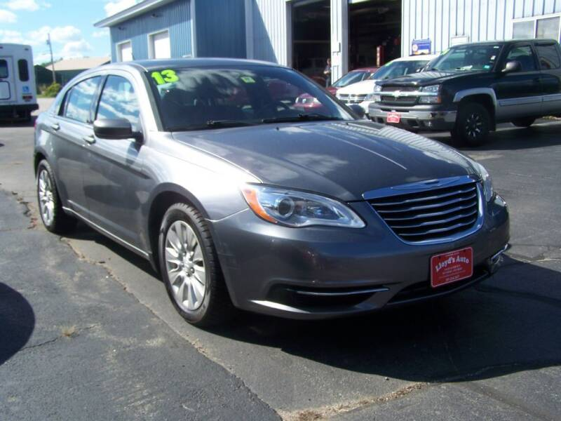 2013 Chrysler 200 for sale at Lloyds Auto Sales & SVC in Sanford ME