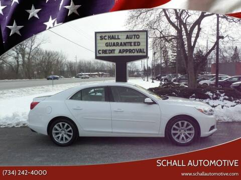 2015 Chevrolet Malibu for sale at Schall Automotive in Monroe MI