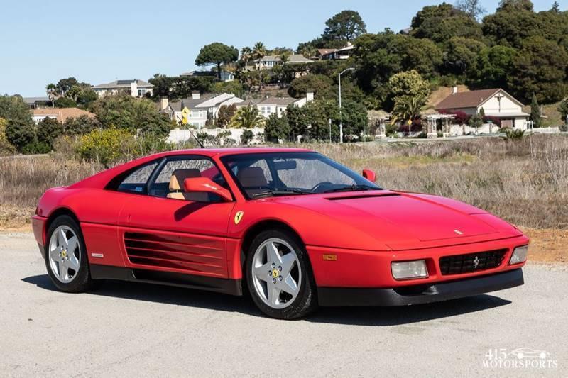 1992 Ferrari 348 for sale at 415 Motorsports in San Rafael CA