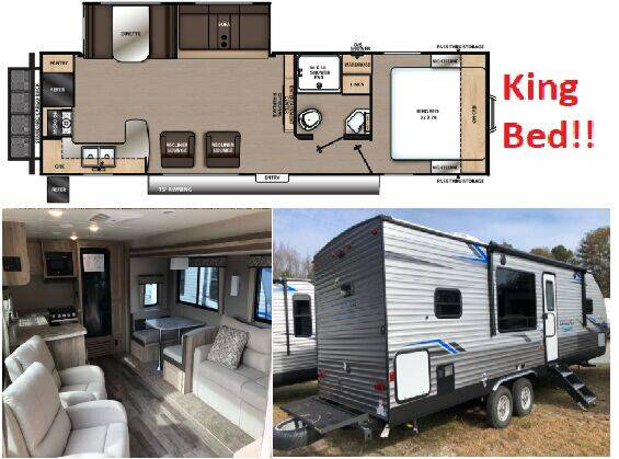 2021 Coachmen Catalina 283RKS for sale at S & M WHEELESTATE SALES INC - Camper in Princeton NC