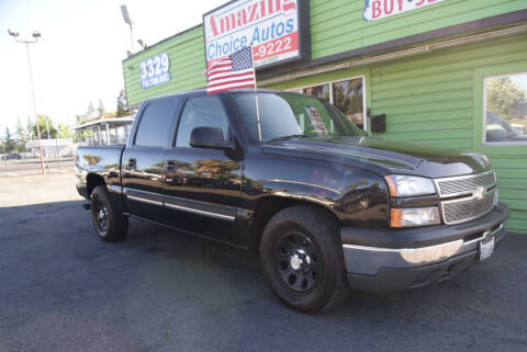 2007 Chevrolet Silverado 1500 Classic for sale at Amazing Choice Autos in Sacramento CA