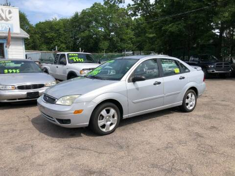 2005 Ford Focus for sale at Lucien Sullivan Motors INC in Whitman MA