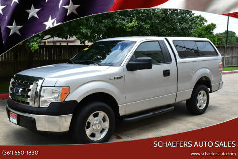 2011 Ford F-150 for sale at Schaefers Auto Sales in Victoria TX