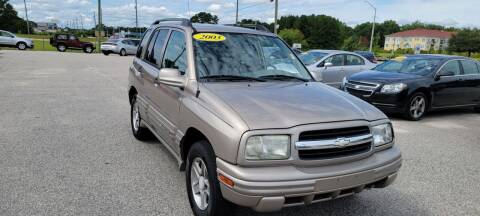 2003 Chevrolet Tracker for sale at Kelly & Kelly Supermarket of Cars in Fayetteville NC