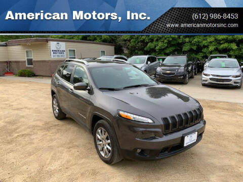 2018 Jeep Cherokee for sale at American Motors, Inc. in Farmington MN