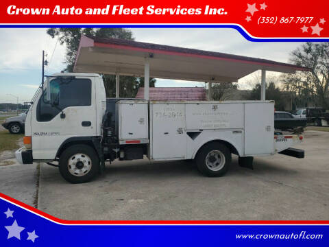 2002 Isuzu NPR for sale at Crown Auto and Fleet Services Inc. in Ocala FL