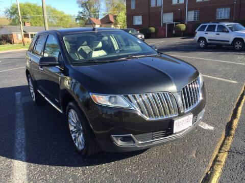 2014 Lincoln MKX for sale at DEALS ON WHEELS in Moulton AL