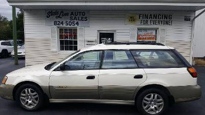 2002 Subaru Outback for sale at STATE LINE AUTO SALES in New Church VA