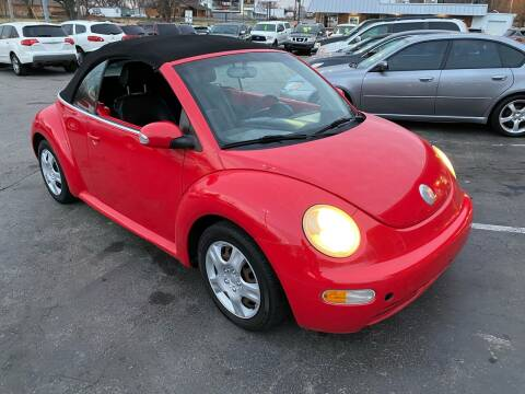 2004 Volkswagen New Beetle Convertible for sale at Auto Choice in Belton MO